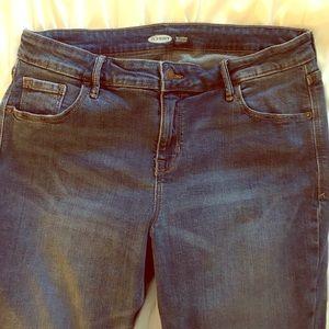 Old Navy Raw Hem Jeans